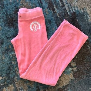 🆕 Juicy Couture Pink Velour Pants 💝